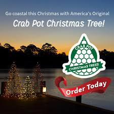 core sound crab pot christmas trees by fisherman creations home