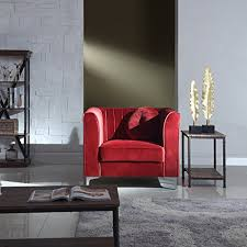Armchair Club Amazon Com Classic And Traditional Living Room Marilyn Velvet