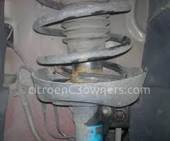 front broken o s coil spring help for the citroen c3 owner