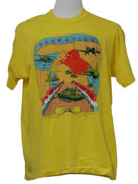 Flag Black Red Yellow 90s Vintage Screenstars T Shirt 90s Screenstars Mens Yellow