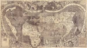 Oldest Map Of North America by Uncovering Hidden Text On A 500 Year Old Map That Guided Columbus