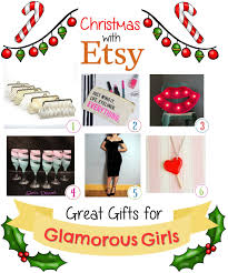 etsy christmas gifts for glamourous girls shinycreations