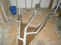 basement bathroom vent and drain questions doityourself com