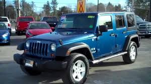2009 jeep wrangler unlimited ltd x used southern maine motors saco