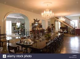 Colonial Interior by Barbados Sunbury Plantation House St Philip Colonial Period