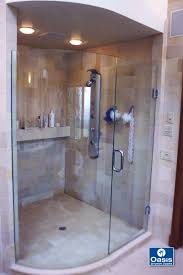 Connecticut Shower Door Frameless Glass Shower Spray Panel Oasis Shower Doors Ma Ct Vt Nh