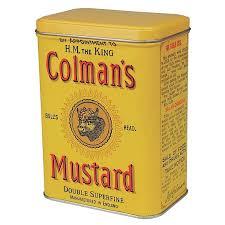 coleman s mustard colmans mustard storage tin