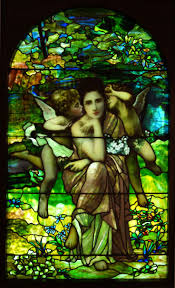 Louis Comfort Tiffany Stained Glass 140 Best Tiffany Windows Angels Images On Pinterest Church