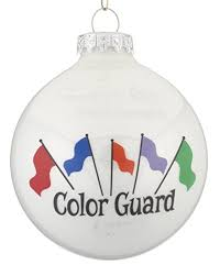 color guard flags ornament home kitchen