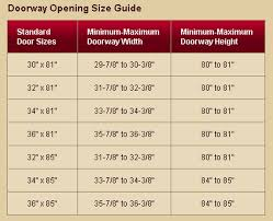 Interior Doors Sizes Storm Door Sizes Lowes