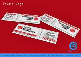 logo toyota 3d print model toyota logo cgtrader