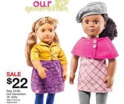 black target black friday our generation 18 inch dolls deal at target black friday sale