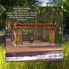 Pergola Swings Soul Effects August 2nd Weekend Sale Soul Effects Of Second Life