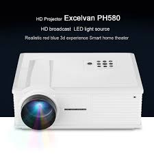 smart home theater projector excelvan hd home theater multimedia lcd led projector 720p hdmi