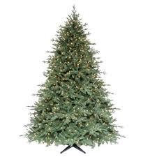 martha stewart living 7 5 ft pre lit royal spruce artificial