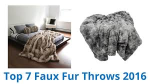 Oversized Faux Fur Throw 7 Best Faux Fur Throws 2016 Youtube