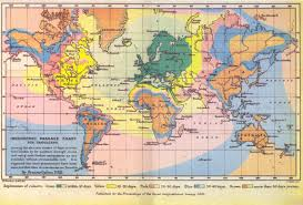 Global Map Of The World by Isochronic Map Of The World Mapas Pinterest