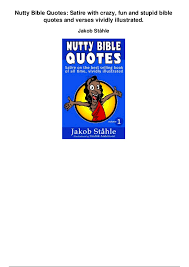 nutty bible quotes satire crazy fun stupid bible quotes u2026