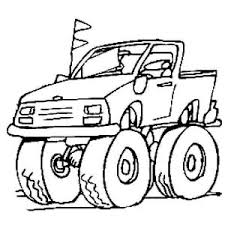 monster truck storm damage coloring page monster truck storm