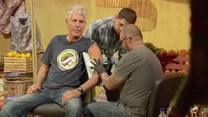 anthony bourdain the taste watch anthony bourdain ludo lefebvre get show logo