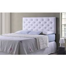 Diy Button Tufted Headboard White Faux Leather Crystal Button Tufted Headboard With Double