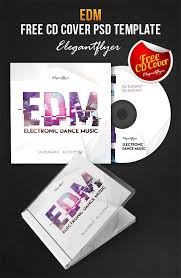 edm free cd cover psd template by webstroy80 on deviantart