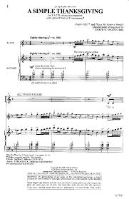 thanksgiving hymns simple thanksgiving satb by joseph martin j w pepper sheet music