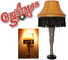 a christmas story leg lamp nightlight holidays winter holidays