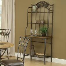 Bakers Rack Console Slate Top Baker U0027s Rack By Hillsdale Wolf And Gardiner Wolf Furniture