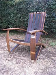 Vintage Adirondack Chairs Chair Wine Barrel Furniture Enthusiast Whiskey Barrel Chairs