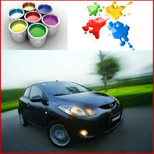 china low price 1k blueish black color basecoat carpaint china