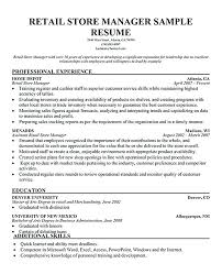 exle resume for retail this is retail supervisor resume retail sales manager resume retail