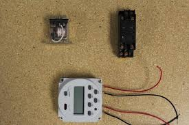 12v relay with timer switch 4 steps