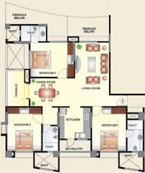 1250 sq ft 2 bhk 2t apartment for sale in kool homes arena