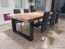 fabriquer sa table de cuisine meuble table manger haute ronde collection avec fabriquer sa table