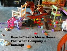how to clean house fast how to clean a messy house fast when company is coming messy