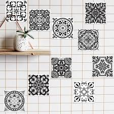 mosaic tile wall stickers 10pcs home decor island mosaic tile wall stickers