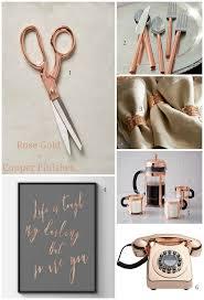 Copper Home Decor Decor U0026 Home Accessories In Rose Gold Copper Finishes Design