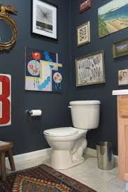 Half Bathroom Paint Ideas by 74 Best Color Of The Month Navy Images On Pinterest Navy Walls