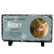 cat memorial plaque