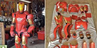 homemade iron man suit is very impressive but doesn u0027t make you a