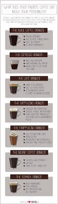 what your drink says about your personality infographic what your favorite coffee drink says about personality