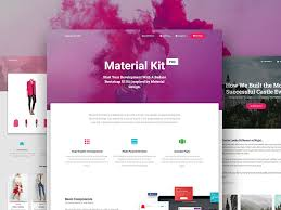 bootstrap design material kit free bootstrap material design ui kit creative tim