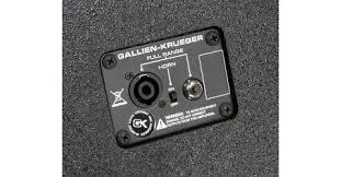 8 ohm bass speaker cabinet gallien krueger cx410 800w 8 ohm 4x10 bass speaker cabinet neal s