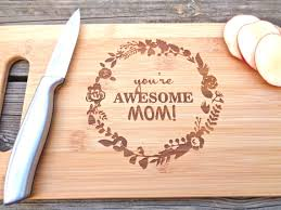 awesome mothers day gifts you re awesome mothers day gift engraved bamboo