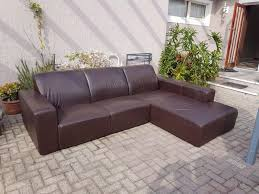 modern low seating full leather oxblood coricraft large 3 seater