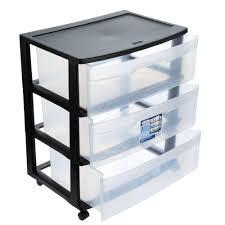 3 Drawer Desk Organizer by Furniture Stylish Sterilite Drawers For Modern Home Storage Ideas