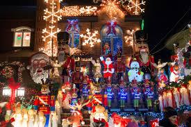 dyker heights christmas lights tour 2017 neighborhood on edge over famed christmas light displays