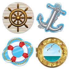 nautical party supplies nautical party decoration nautical cutouts