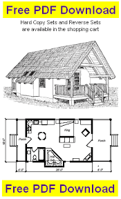 cabin blueprints free free cabin plan and blueprint vacation cabin plans cv504